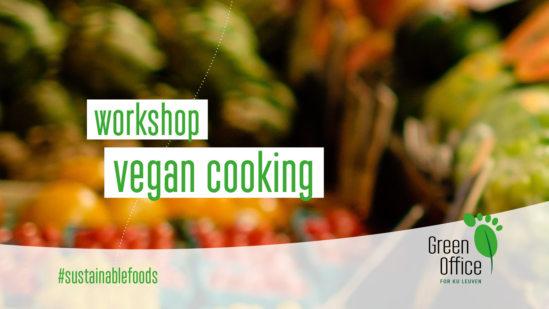 Get your ticket for the vegan cooking workshop