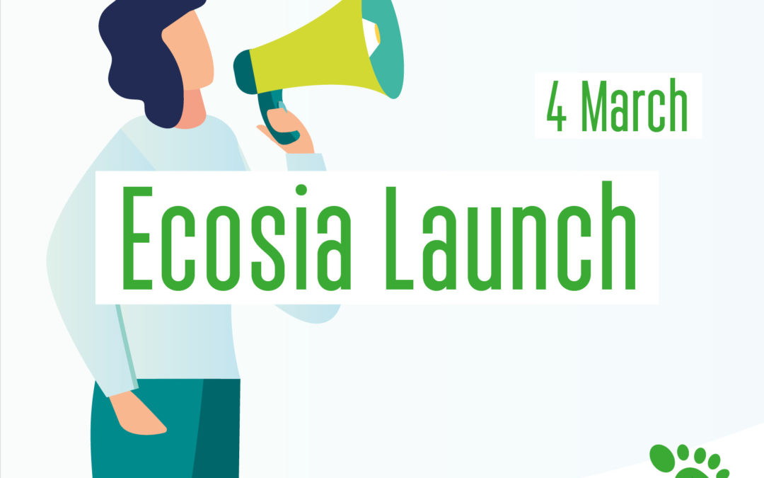 Launching Ecosia in all KU Leuven libraries