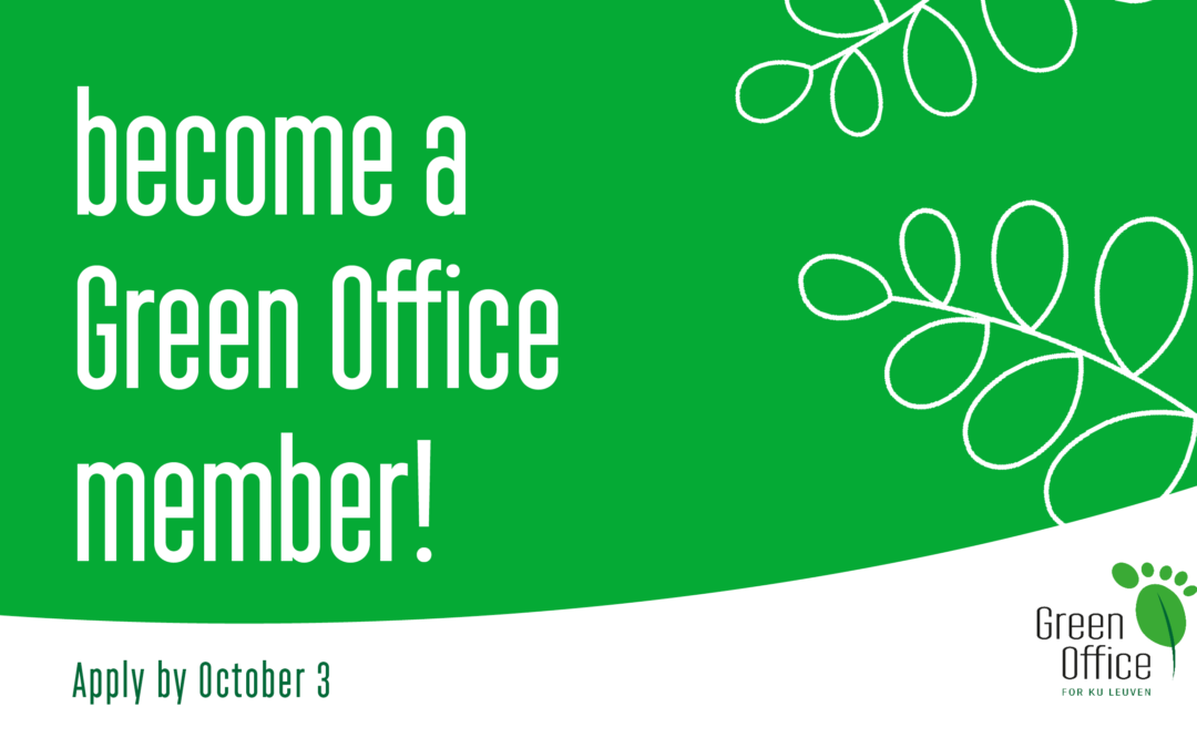 Join the Green Office