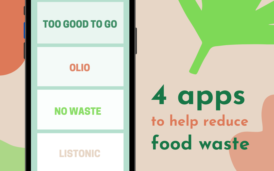 4 Apps to Help You Reduce Food Waste